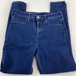 H&M High Waisted Skinny Ankle Jeans